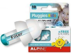ΩΤΟΑΣΠΙΔΕΣ ALPINE HEARING PROTECTION PLUGGIES KIDS (1ΖΕΥΓΟΣ)
