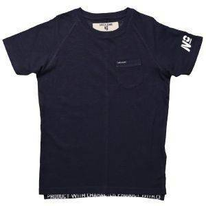 T-SHIRT GARCIA JEANS M83408-292 DARK MOON-ΜΠΛΕ ΣΚΟΥΡΟ