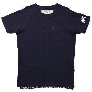 T-SHIRT GARCIA JEANS M83408-292 DARK MOON-ΜΠΛΕ ΣΚΟΥΡΟ (128ΕΚ.)-(8ΕΤΩΝ) βρεφικά   παιδικά αγορι μπλουζεσ t shirts