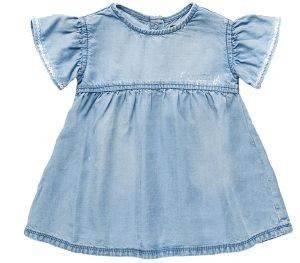 ΦΟΡΕΜΑ REPLAY PG3167.050.50103-001 ΜΠΛΕ (74ΕΚ.)-(9-12ΜΗΝΩΝ) βρεφικά   παιδικά κοριτσι φορεματακια denim