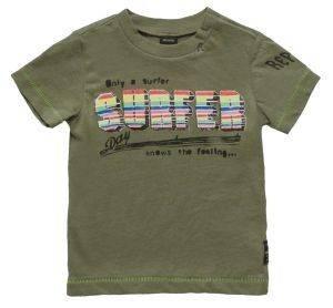 T-SHIRT REPLAY PB7308.071.20994-438 ΛΑΔΙ (86ΕΚ.)-(18-24ΜΗΝΩΝ) βρεφικά   παιδικά αγορι μπλουζεσ t shirts