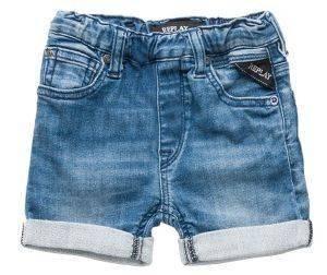 JEANS ΒΡΕΦΙΚΗ ΒΕΡΜΟΥΔΑ REPLAY PB9500.050.2062141-001 ΜΠΛΕ (86ΕΚ.)-(18-24ΜΗΝΩΝ) βρεφικά   παιδικά αγορι σορτσακια jeans