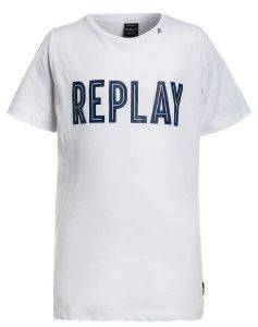T-SHIRT REPLAY SB7308.094.20994-001 ΛΕΥΚΟ