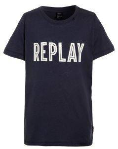 T-SHIRT REPLAY SB7308.089.20994-206 ΜΠΛΕ