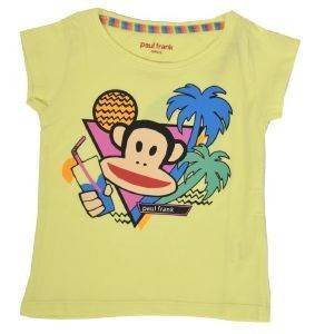 T-SHIRT PAUL FRANK DRINK ΚΙΤΡΙΝΟ (140ΕΚ.)-(9-10 ΕΤΩΝ) βρεφικά   παιδικά κοριτσι μπλουζεσ t shirts
