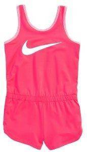 ΟΛΟΣΩΜΗ ΦΟΡΜΑ NIKE DRI-FIT SPORT ESSENTIALS ROMPER ΡΟΖ