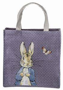 SHOPPING BAG PETIT JOUR PETER RABBIT ΜΩΒ βρεφικά   παιδικά accessories τσαντεσ