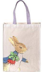 SHOPPING BAG PETIT JOUR PETER RABBIT ΕΚΡΟΥ βρεφικά   παιδικά accessories τσαντεσ