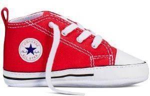 ΜΠΟΤΑΚΙ ΑΓΚΑΛΙΑΣ CONVERSE CHUCK TAILOR FIRST STAR 88875 ΚΟΚΚΙΝΟ (EU:18) βρεφικά   παιδικά κοριτσι υποδηση αγκαλιασ παπουτσακια αγκαλιασ