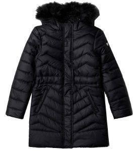 ΜΠΟΥΦΑΝ GUESS KIDS J84L11 W7S10 ΜΑΥΡΟ (135ΕΚ.)-(7-8 ΕΤΩΝ) βρεφικά   παιδικά κοριτσι ζακετεσ μπουφαν μπουφαν