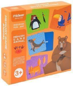 ΕΚΠΑΙΔΕΥΤΙΚΟ ΠΑΙΧΝΙΔΙ ΜΝΗΜΗΣ MIDEER MEMORY GAME ANIMAL [MD2032] βρεφικά   παιδικά παιχνιδια 36 μηνων και ανω εκπαιδευτικα