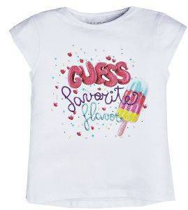 T-SHIRT GUESS KIDS K92I19 K82J0 ΛΕΥΚΟ (125ΕΚ.)-(6-7 ΕΤΩΝ)