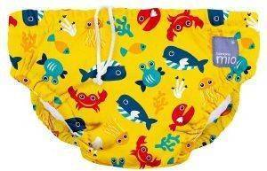 ΠΑΝΑ ΜΑΓΙΟ BAMBINO MIO REUSABLE SWIM NAPPY DEEP SEA YELLOW
