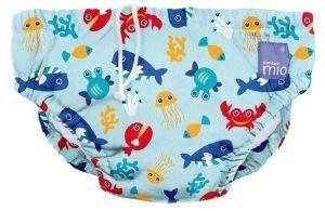 ΠΑΝΑ ΜΑΓΙΟ BAMBINO MIO REUSABLE SWIM NAPPY DEEP SEA BLUE