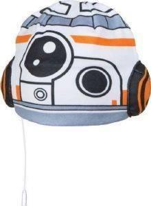 ΑΚΟΥΣΤΙΚΑ-ΣΚΟΥΦΑΚΙ DISNEY STAR WARS BB8 3-8 ΕΤΩΝ [HEC00620] βρεφικά   παιδικά accessories καπελα σκουφοι