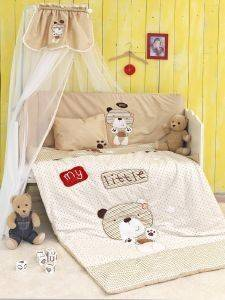 ΣΕΤ ΚΟΥΝΙΑΣ PALAMAIKI LITTLE ONES COLLECTION MY LITTLE BEAR 6ΤΜΧ ΜΠΕΖ