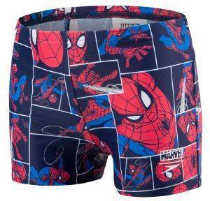 ΜΑΓΙΟ SPEEDO SPIDERMAN DISNEY ALLOVER AQUASHORT NAVY/RED