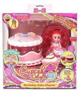 PLAYSET JUST TOYS CUP CAKE SURPRISE ΤΟΥΡΤΑ ΡΟΖ [1136]