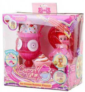 PLAYSET JUST TOYS CUP CAKE SURPRISE ΠΑΓΩΤΟ ΡΟΖ [1140]
