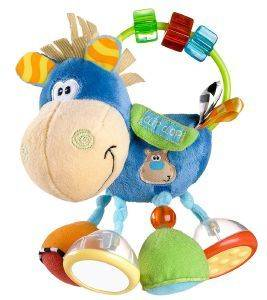 ΚΟΥΔΟΥΝΙΣΤΡΑ PLAYGRO TOY BOX CLIP CLOP AVTIVITY RATTLE 0Μ+