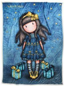 ΚΟΥΒΕΡΤΑ FLEECE SHERPA ΜΕ ΓΟΥΝΑ DAS KID SANTORO GORJUSS - JUST BECAUSE 160X220CM ΣΧ. 5020