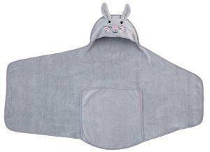 ΠΕΤΣΕΤΑ ΑΓΚΑΛΙΑΣ GRO COMPANY GROSWADDLEDRY BETTY THE BUNNY 100X48 CM (0-6 ΜΗΝΩΝ)