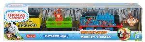 FISHER-PRICE THOMAS AND FRIENDS ΜΗΧΑΝΟΚΙΝΗΤΑ ΤΡΕΝΑΚΙΑ ΣΑΦΑΡΙ MONKEY THOMAS [GLK69]