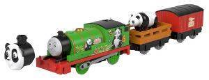 FISHER-PRICE THOMAS AND FRIENDS ΜΗΧΑΝΟΚΙΝΗΤΑ ΤΡΕΝΑΚΙΑ ΣΑΦΑΡΙ PANDA PERCY [GLK69]