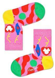 ΚΑΛΤΣΕΣ HAPPY SOCKS KIDS DISNEY ONCE UPON A SOCK KDNY01-3500 ΡΟΖ/ΠΟΛΥΧΡΩΜΟ