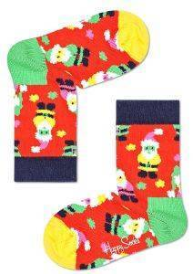 ΚΑΛΤΣΕΣ HAPPY SOCKS KIDS SANTA SOCK KSAN01-4300